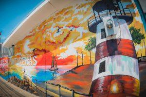 Mural frente al Hotel Sol Puntarenas
